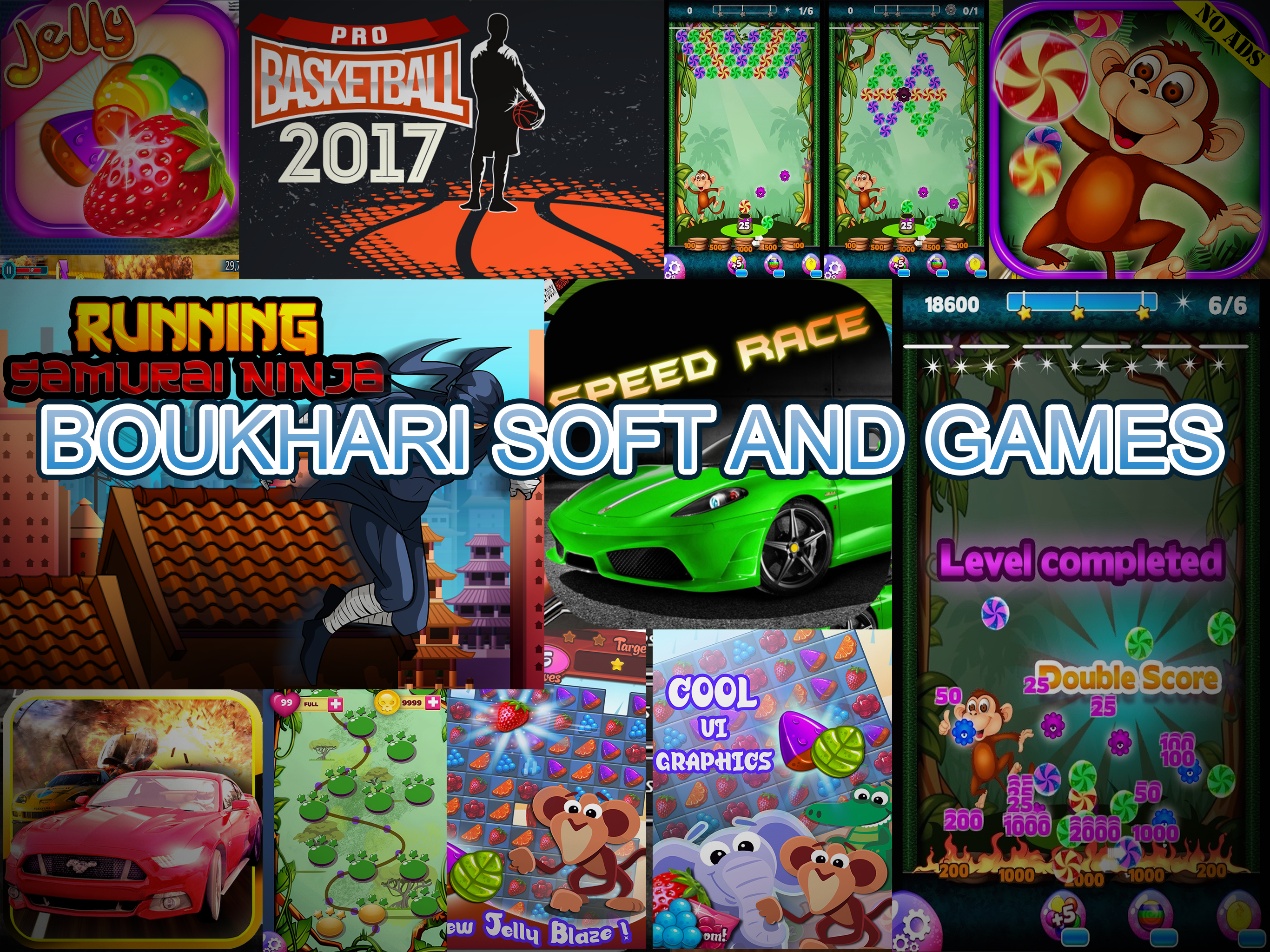 BoukhariSoft – Mobile and HTML5 games